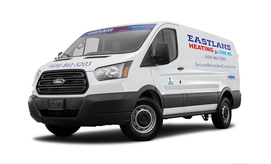 Eastland Heating & Cooling van - Service You Can Trust